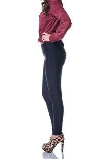 Calça Gisele Freitas Skinny Modeladora Preta