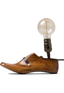 Luminária - Old Shoes Wood