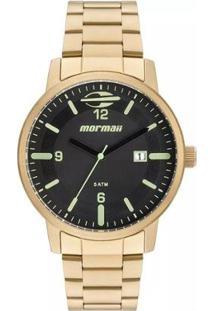 Relógio Mormaii Digital Vintage Mobj3715B3P Prata Masc - Unissex-Dourado