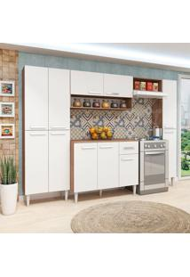 Cozinha Compacta Madri 11 Pt 1 Gv Teka E Branca