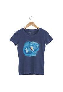 Camiseta Forseti Estonada Navegante Azul