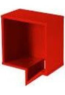 Prateleira Cartoon Quadrada - Vermelha - Tommy Design