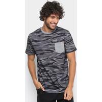 Camiseta Mcd Especial Full Camouflage Masculina - Masculino-Preto cad5040ef9f