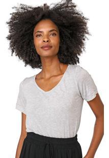Camiseta Lez A Lez Lisa Cinza