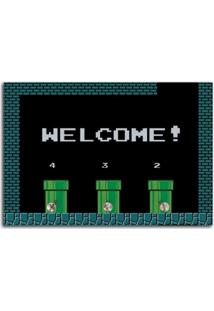 Porta Chaves Welcome! Geek10 - Preto