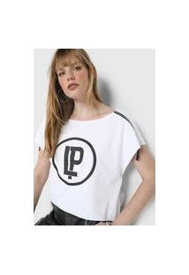 Camiseta Lança Perfume Zíper Branca