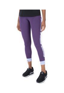Calça Legging Puma Modern Sports Fold Up - Feminina - Roxo