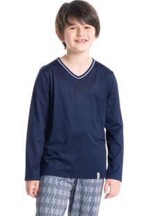 Pijama Infantil Masculino Longo Estampado Gabriel