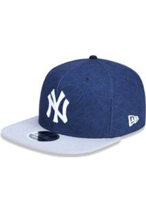 af1657d73ed87 Boné 950 Original Fit New York Yankees Mlb Aba Reta Snapback New Era -  Masculino-