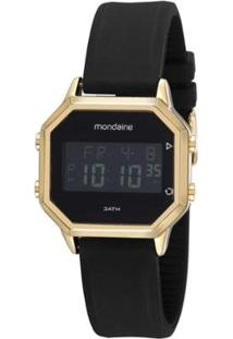 Relógio Mondaine Digital Feminino - Feminino-Dourado