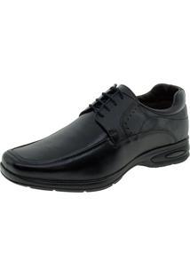 Sapato Masculino Social Mini Floater Talk Flex - 9000 Preto 37