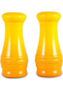 Saleiro E Pimenteiro Amarelo Soleil Le Creuset