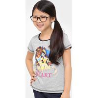 033b9dc0f5 Camiseta Disney Bela Infantil - Feminino