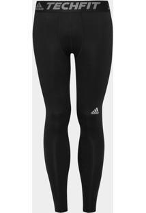 Calça Adidas Tf Base Tight Masculina - Masculino-Preto