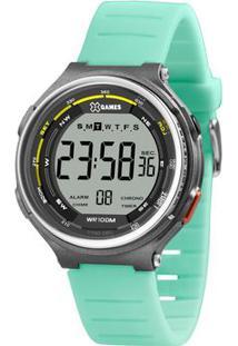 Relógio Digital Quartz Xmppd574Bxfx- Cinza Escuro & Verdorient