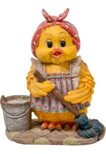 Escultura Decorativa Duck