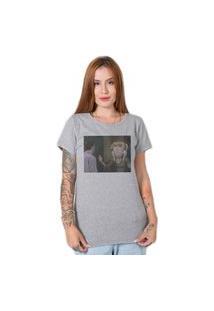 Camiseta Monica Geller Friends Cinza Stoned