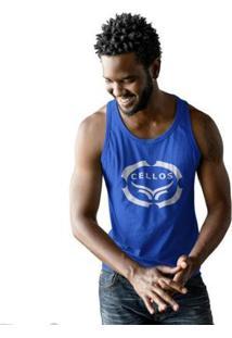 Regata Cellos Corp Premium Masculina - Masculino-Azul Royal