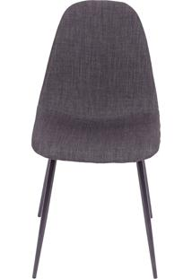 Cadeira 1112-Or Design - Grafite / Preto
