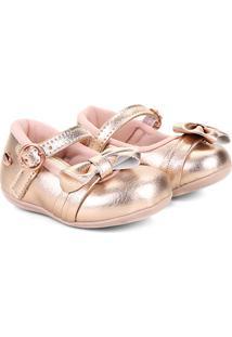 Sapato Infantil Klin Cravinho Princess Feminino - Feminino-Rosa
