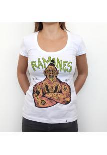 Ramones 74 - Camiseta Clássica Feminina