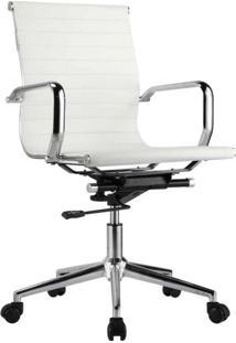 Cadeira De Escritório Sevilha Baixa Branca