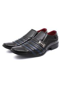 Sapato Social Leve Renovally Preto