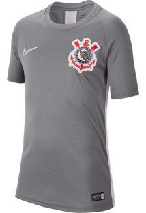 Camiseta De Treino Nike Corinthians Infantil