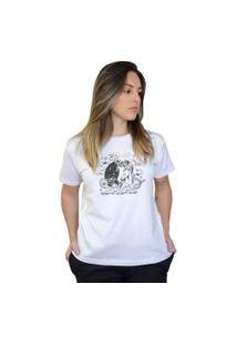 Camiseta Boutique Judith Magic Unicorn Branco