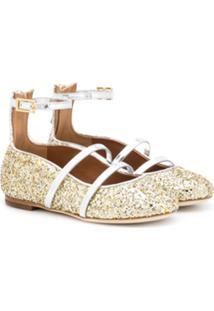 Malone Souliers Kids Robyn Smalls Ballerinas - Dourado