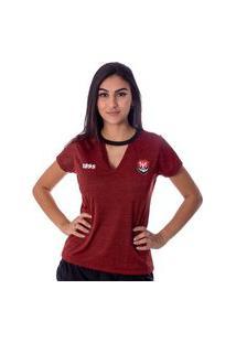 Camiseta Flamengo Pilus Feminina