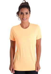 Camiseta Cores Laranja Liquido
