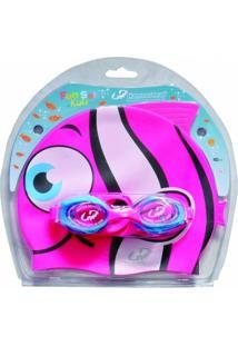 Óculos De Natação Fun Set Kids - Unissex