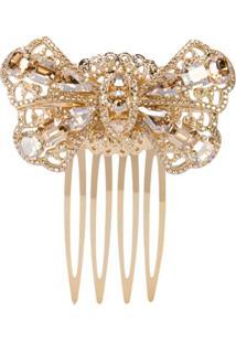 Dolce & Gabbana Acessório Para Cabelo Com Aplicações - Dourado