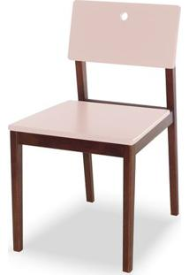 Cadeira Flip Cor Cacau Com Bege Claro - 30833 - Sun House