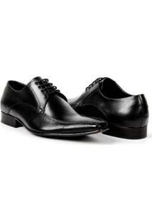 Sapato Social Couro Bigioni Masculino - Masculino-Preto