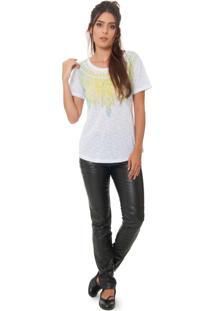 Camiseta Urban96 Cocar Branca