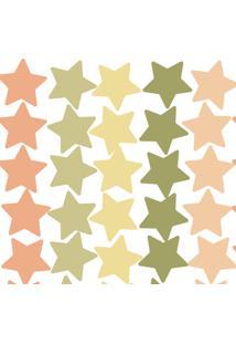 Adesivo De Parede Infantil Estrelas Verdes - Tricae