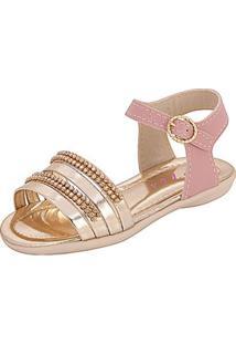 Sandália Infantil Plis Calçados Graciosa Feminina - Feminino-Rosa