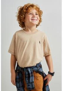 Camiseta Infantil Reserva Mini Sm Nature Masculina - Masculino-Areia
