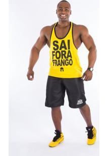 Regata Império Fitness Super Cavada Masculina - Masculino