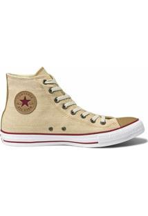 Tênis Converse All Star Chuck Taylor Hi - Feminino-Bege