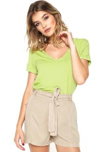 Blusa Calvin Klein Jeans Mullet Verde