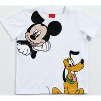 3506ea19d2 Camiseta Infantil Estampa Mickey Pluto Disney