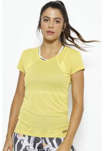 Blusa Lisa- Amarelo Escuro- Physical Fitnessphysical Fitness