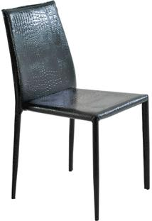 Cadeira Pvc Crocco Amanda-Rivatti - Preto