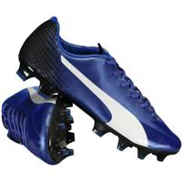 Chuteira Puma Evospeed 17.4 Fg Campo Azul a20d38f601f46