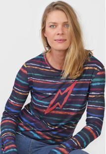 Camiseta Cantão Espectro Azul-Marinho - Kanui