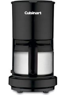 Cafeteira Elétrica Cuisinart Dcc450Bk Preto Jarra Em Inox 110V 4 Xícaras